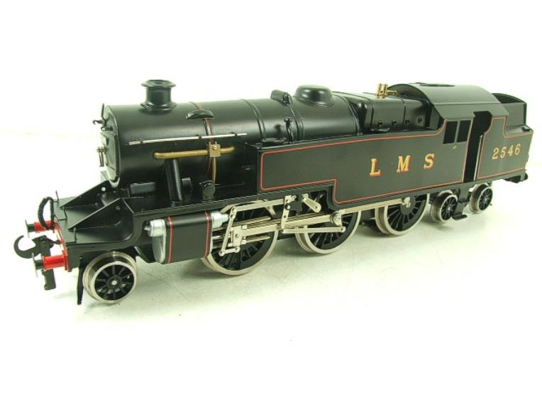 Ace Trains O Gauge E8 LMS Satin Black 2 Cyl Stanier Tank Loco R/N 2546 Electric 2/3 Rail Bxd image 12