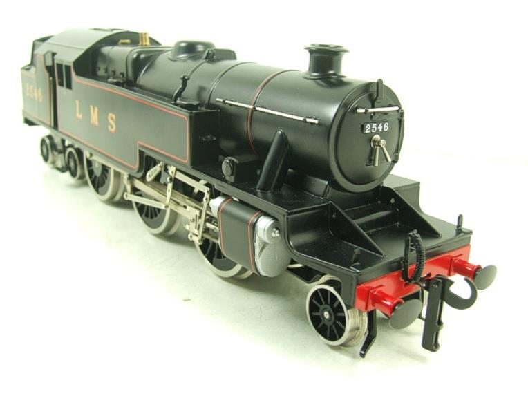 Ace Trains O Gauge E8 LMS Satin Black 2 Cyl Stanier Tank Loco R/N 2546 Electric 2/3 Rail Bxd image 13