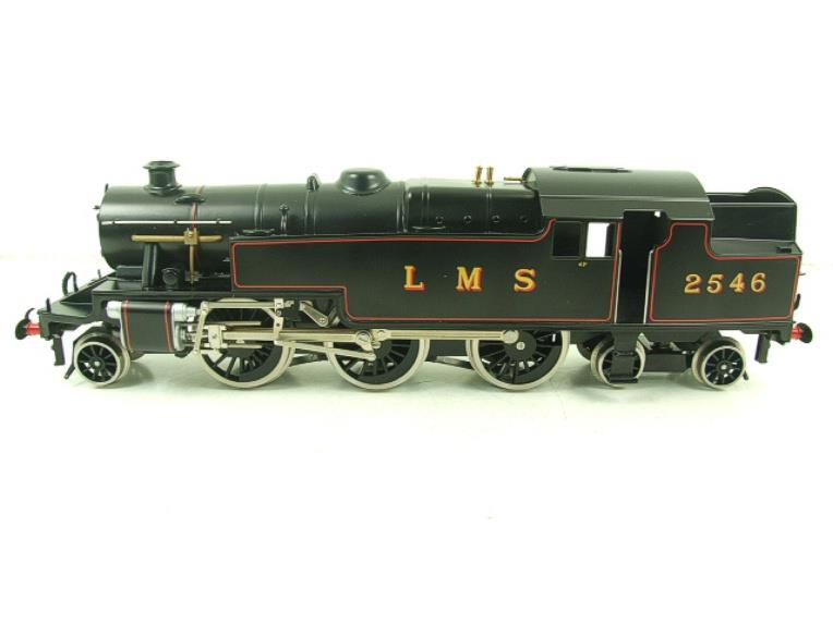 Ace Trains O Gauge E8 LMS Satin Black 2 Cyl Stanier Tank Loco R/N 2546 Electric 2/3 Rail Bxd image 14