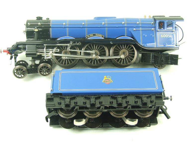 "Ace Trains O Gauge E6 A3 Pacific BR Blue ""Blink Bonny"" R/N 60051 Electric Boxed image 11"