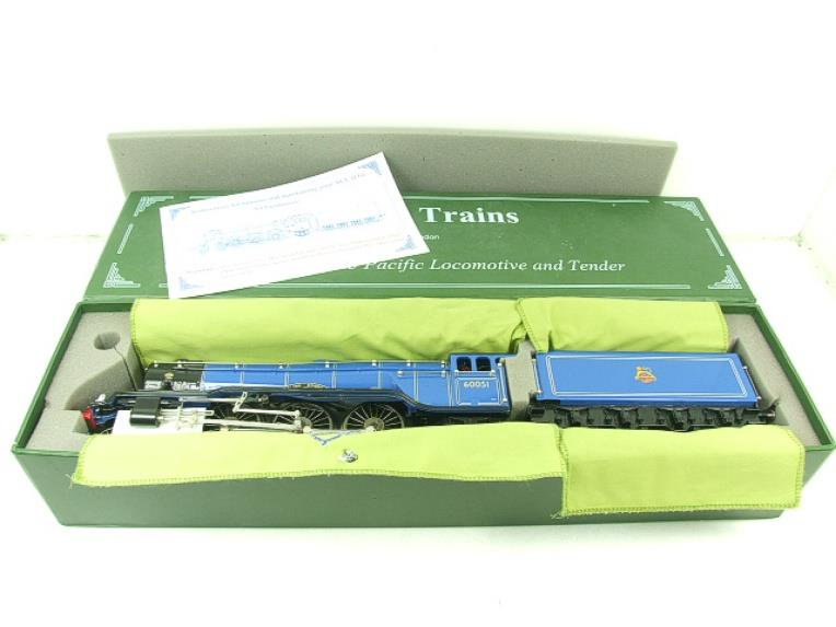 "Ace Trains O Gauge E6 A3 Pacific BR Blue ""Blink Bonny"" R/N 60051 Electric Boxed image 20"