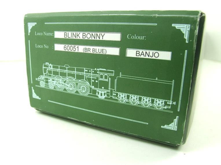 "Ace Trains O Gauge E6 A3 Pacific BR Blue ""Blink Bonny"" R/N 60051 Electric Boxed image 21"