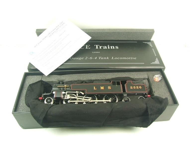 Ace Trains O Gauge E8 LMS 3 Cyl Stanier Tank 2-6-4 Loco R/N 2526 Electric 2/3 Rail Boxed image 13