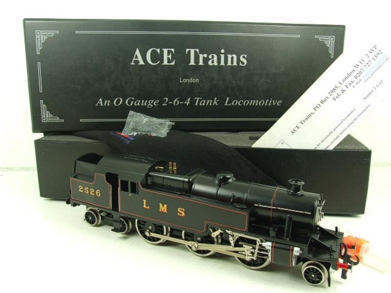 Ace Trains O Gauge E8 LMS 3 Cyl Stanier Tank 2-6-4 Loco R/N 2526 Electric 2/3 Rail Boxed image 15