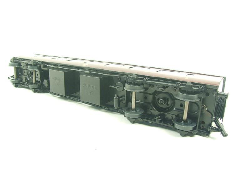 Ace Trains O Gauge C28-03 LMS Maroon Coronation Scot Open 3rd Coach Bxd 2/3 Rail image 15