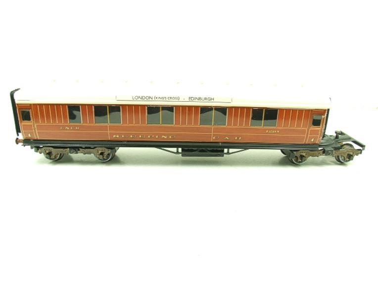 Ace Trains O Gauge C6 LNER Teak Style Articulated Sleepers Sleeping Coaches x2 Set Boxed image 13