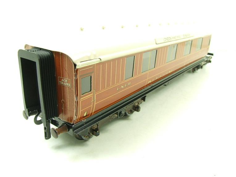Ace Trains O Gauge C6 LNER Teak Style Articulated Sleepers Sleeping Coaches x2 Set Boxed image 14