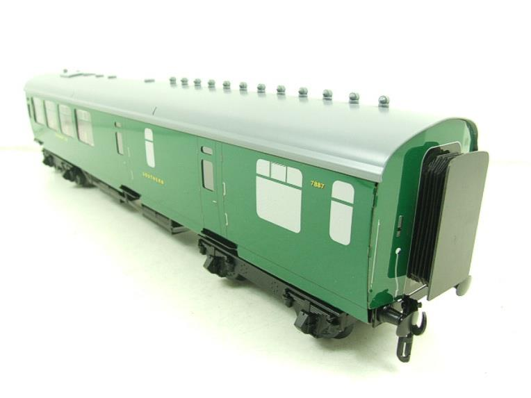 Ace Trains O Gauge C21A SR Green Bulleid Post War x3 Coaches Set A Boxed image 13