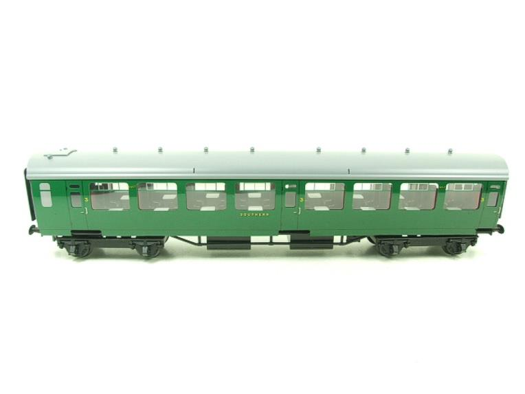 Ace Trains O Gauge C21A SR Green Bulleid Post War x3 Coaches Set A Boxed image 14