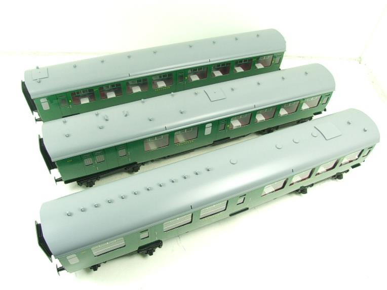Ace Trains O Gauge C21A SR Green Bulleid Post War x3 Coaches Set A Boxed image 15