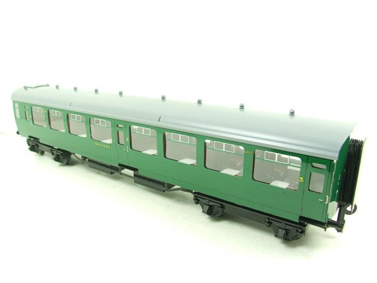 Ace Trains O Gauge C21A SR Green Bulleid Post War x3 Coaches Set A Boxed image 17