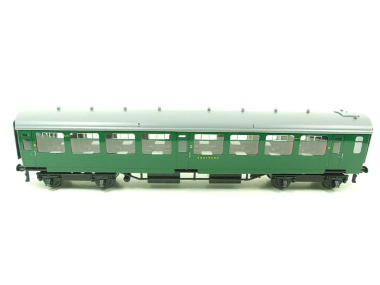 Ace Trains O Gauge C21A SR Green Bulleid Post War x3 Coaches Set A Boxed image 18