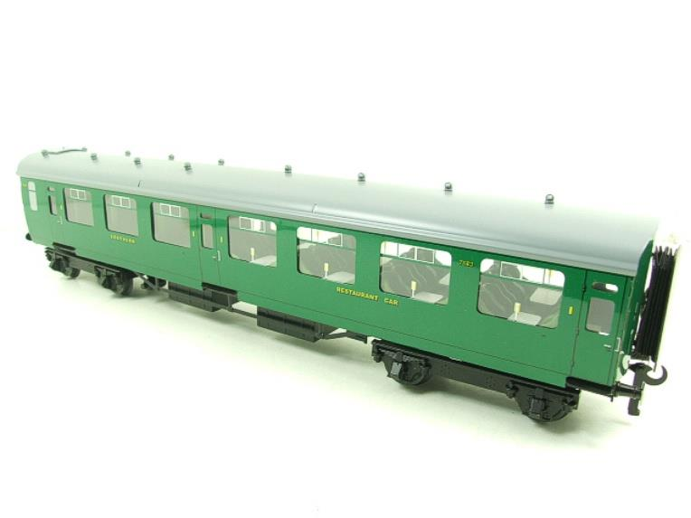 Ace Trains O Gauge C21B SR Green Bulleid Post War x3 Coaches Set B Boxed image 16
