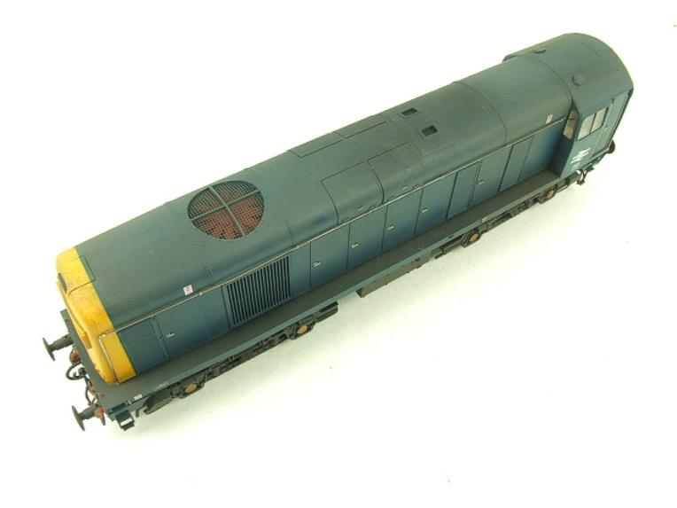 HelJan O Gauge 2014 Class 20 BR Blue With Full Yellow Ends Diesel Loco Weathered Electric Bxd image 11