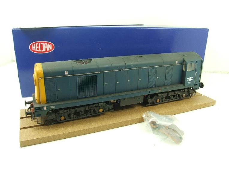 HelJan O Gauge 2014 Class 20 BR Blue With Full Yellow Ends Diesel Loco Weathered Electric Bxd image 15