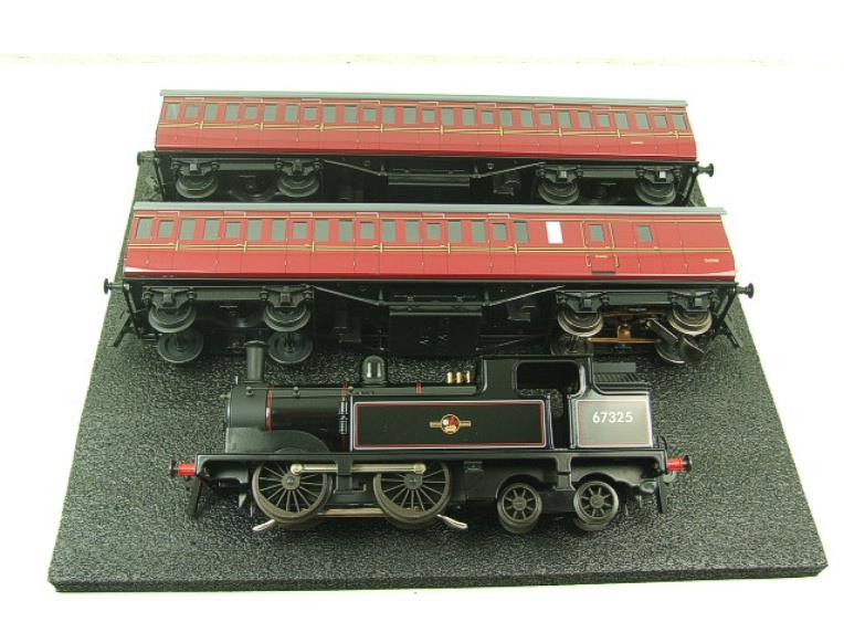 Ace Trains O Gauge E25/S-E1 BR Black G5 Tank Loco & Coaches Set Electric 2/3 Rail Boxed image 12