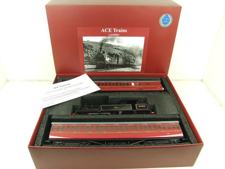 Ace Trains O Gauge E25/S-E1 BR Black G5 Tank Loco & Coaches Set Electric 2/3 Rail Boxed image 18