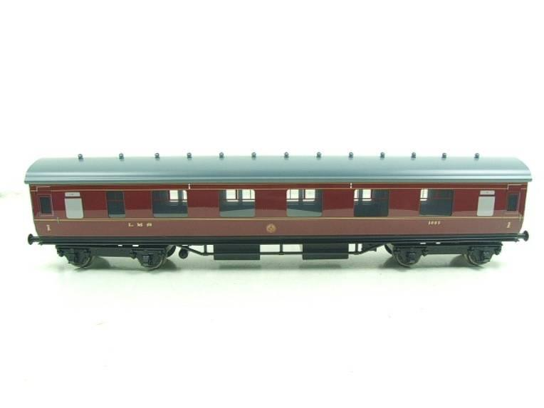 Ace Trains O Gauge C18A LMS Maroon Stainier Coaches x3 B/New Bxd 2/3 Rail Set A image 12