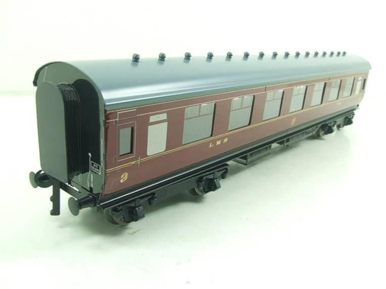 Ace Trains O Gauge C18A LMS Maroon Stainier Coaches x3 B/New Bxd 2/3 Rail Set A image 13