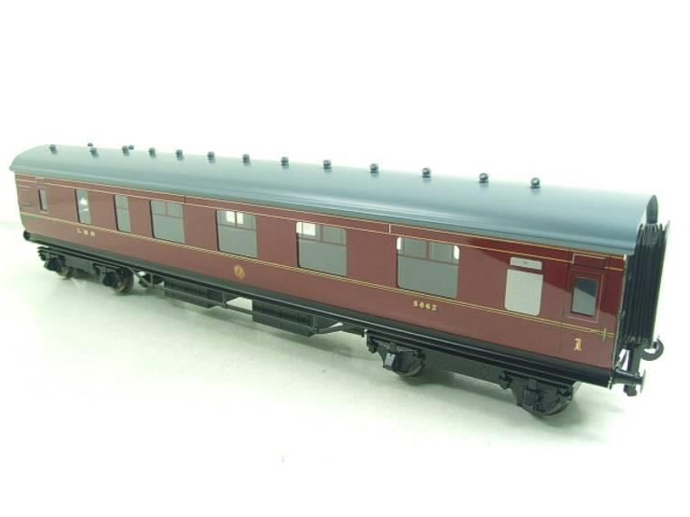 Ace Trains O Gauge C18A LMS Maroon Stainier Coaches x3 B/New Bxd 2/3 Rail Set A image 14