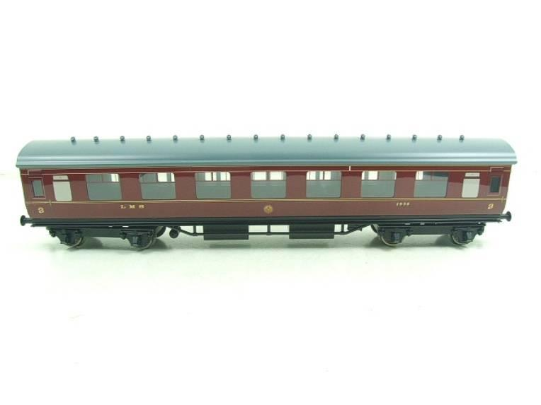 Ace Trains O Gauge C18A LMS Maroon Stainier Coaches x3 B/New Bxd 2/3 Rail Set A image 15