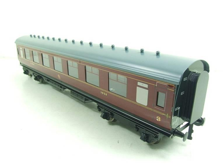 Ace Trains O Gauge C18A LMS Maroon Stainier Coaches x3 B/New Bxd 2/3 Rail Set A image 16