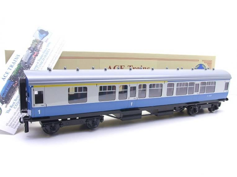 Ace Trains O Gauge C13-CB BR Mark 1 Corridor Composite Coach RN M15627 Boxed image 15