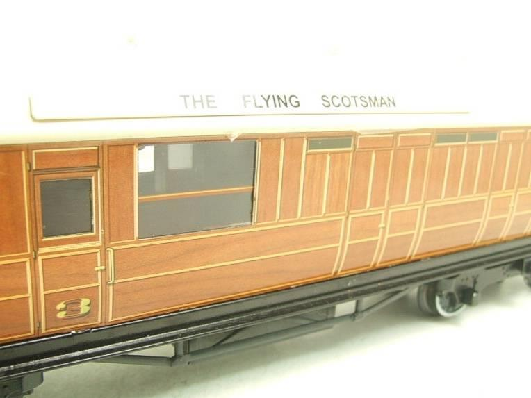 "Ace Trains O Gauge C4 LNER ""The Flying Scotsman"" x3 Corridor Coaches Set B Boxed image 11"