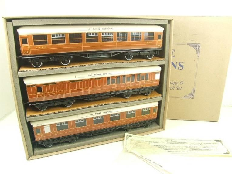 "Ace Trains O Gauge C4 LNER ""The Flying Scotsman"" x3 Corridor Coaches Set B Boxed image 18"
