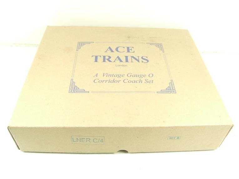 "Ace Trains O Gauge C4 LNER ""The Flying Scotsman"" x3 Corridor Coaches Set B Boxed image 19"