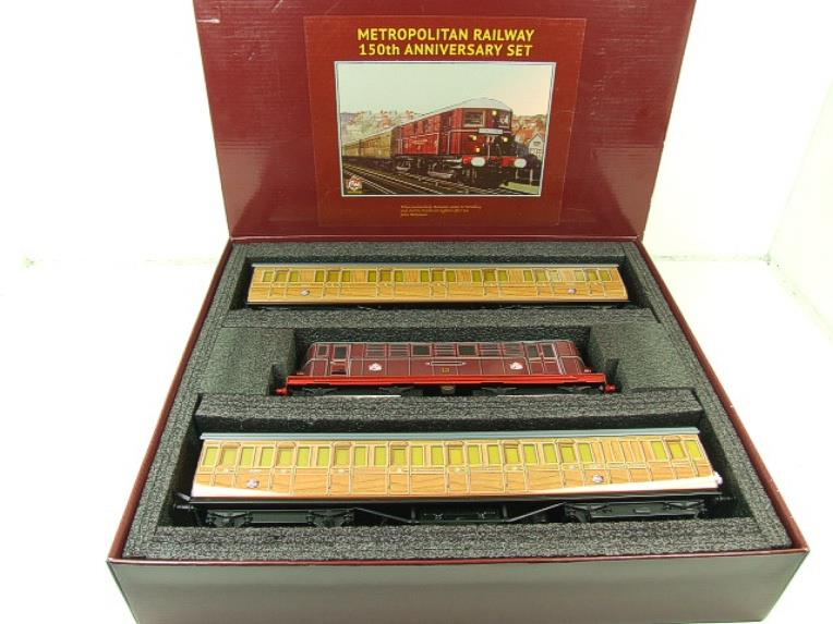 "Ace Trains O Gauge C26/AS ""Metropolitan 150th Anniversary Set"" Electric 2/3 Rail Bxd image 22"