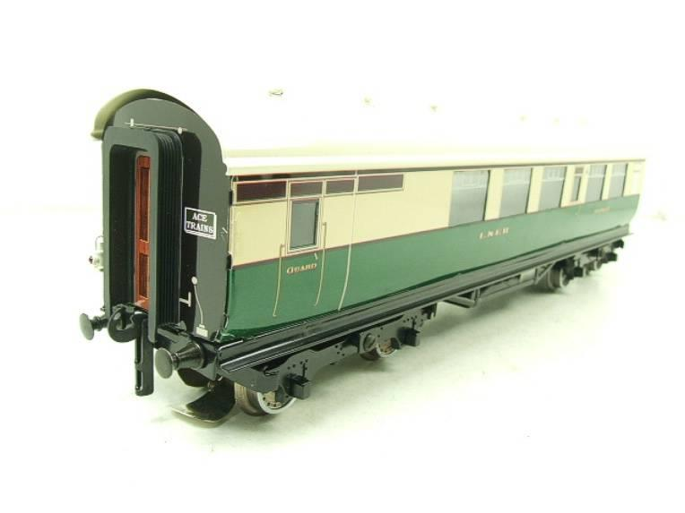 Ace Trains O Gauge C/4 LNER Articulated Tourist Stock x6 Coaches Set Boxed image 11
