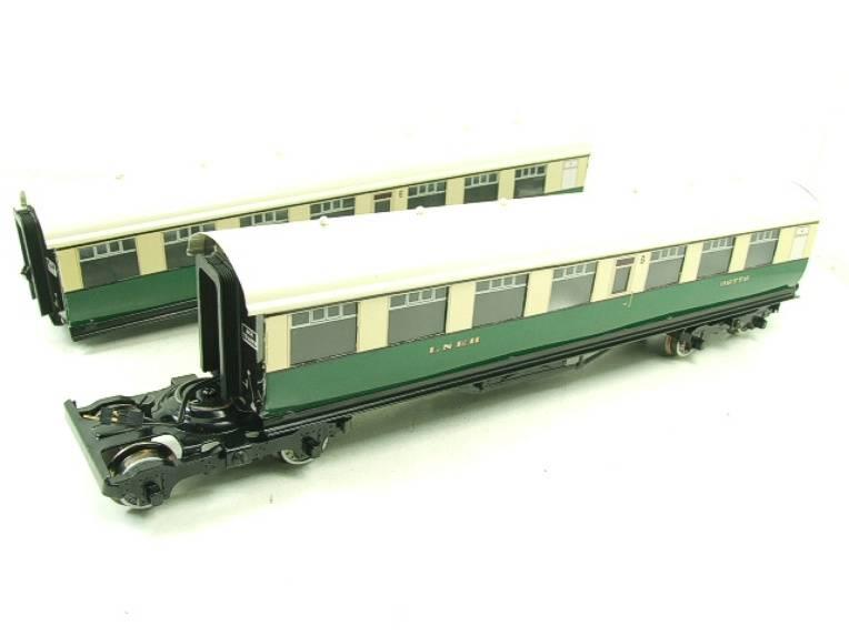 Ace Trains O Gauge C/4 LNER Articulated Tourist Stock x6 Coaches Set Boxed image 13
