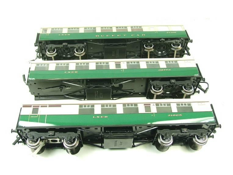 Ace Trains O Gauge C/4 LNER Articulated Tourist Stock x6 Coaches Set Boxed image 14