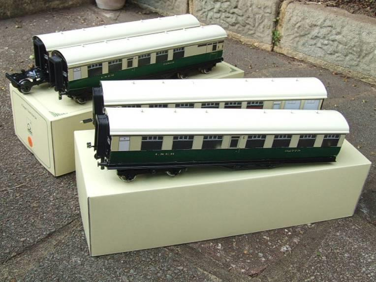 Ace Trains O Gauge C/4 LNER Articulated Tourist Stock x6 Coaches Set Boxed image 15