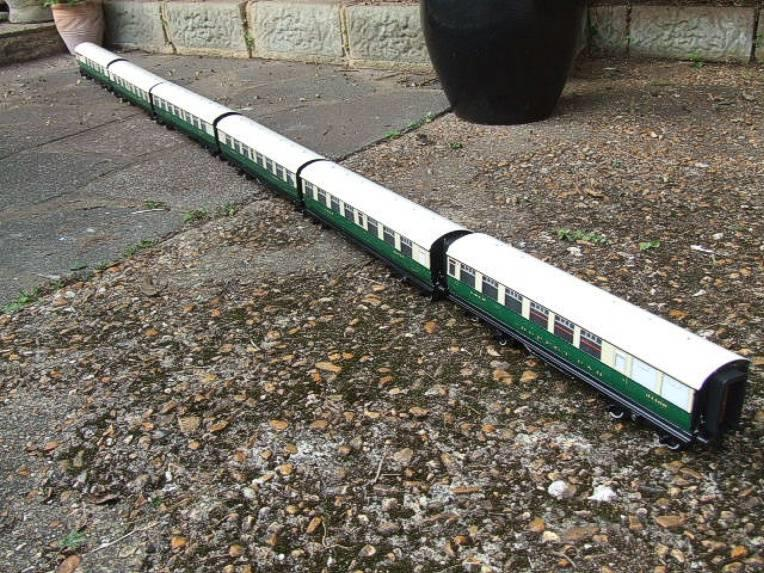 Ace Trains O Gauge C/4 LNER Articulated Tourist Stock x6 Coaches Set Boxed image 16