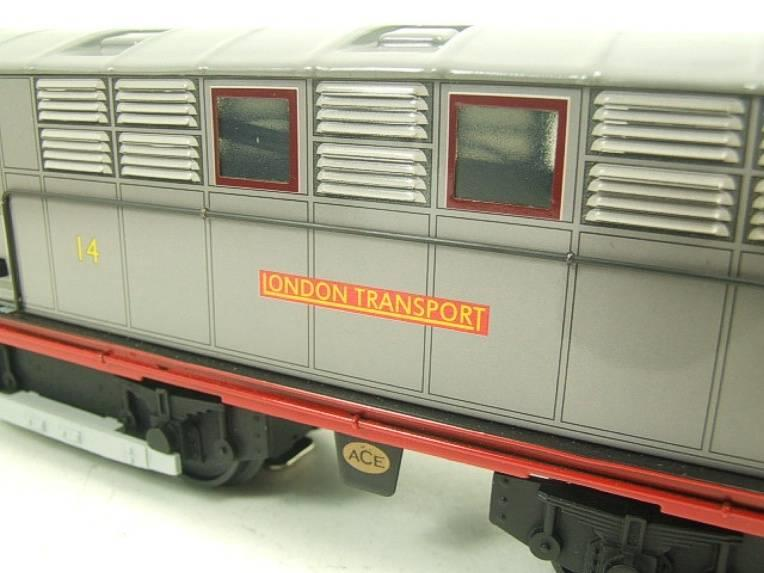 "Ace Trains O Gauge E17 ""London Transport Grey"" Metropolitan Bo Bo Loco No 14 Electric 2/3 Rail image 12"