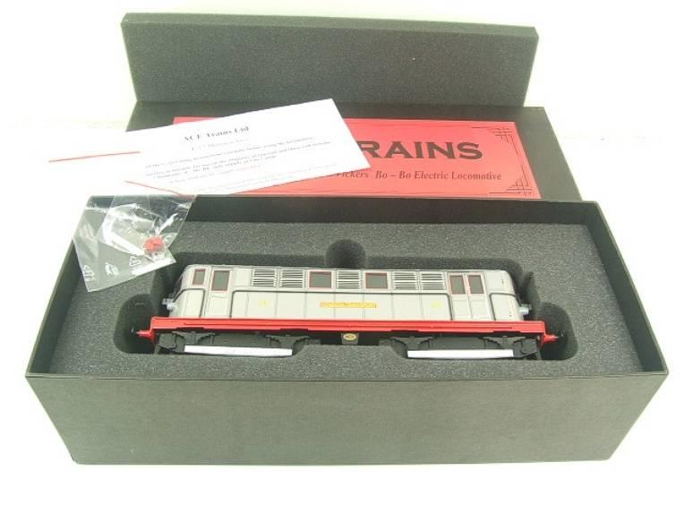 "Ace Trains O Gauge E17 ""London Transport Grey"" Metropolitan Bo Bo Loco No 14 Electric 2/3 Rail image 13"