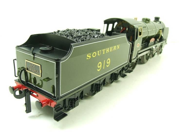 "Ace Trains O Gauge E10 SR Schools Class ""Harrow"" R/N 919 Electric 2/3 Rail Boxed image 13"