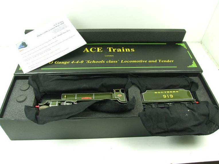 "Ace Trains O Gauge E10 SR Schools Class ""Harrow"" R/N 919 Electric 2/3 Rail Boxed image 20"