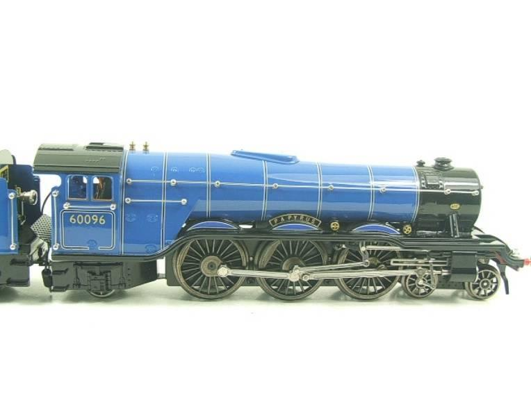 "Ace Trains O Gauge E6 A3 Pacific BR Blue ""Papyrus"" R/N 60096 Electric 3 Rail Bxd image 11"
