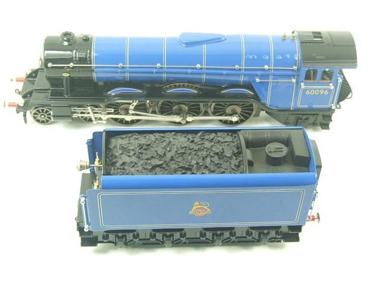 "Ace Trains O Gauge E6 A3 Pacific BR Blue ""Papyrus"" R/N 60096 Electric 3 Rail Bxd image 13"