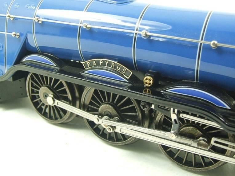 "Ace Trains O Gauge E6 A3 Pacific BR Blue ""Papyrus"" R/N 60096 Electric 3 Rail Bxd image 17"
