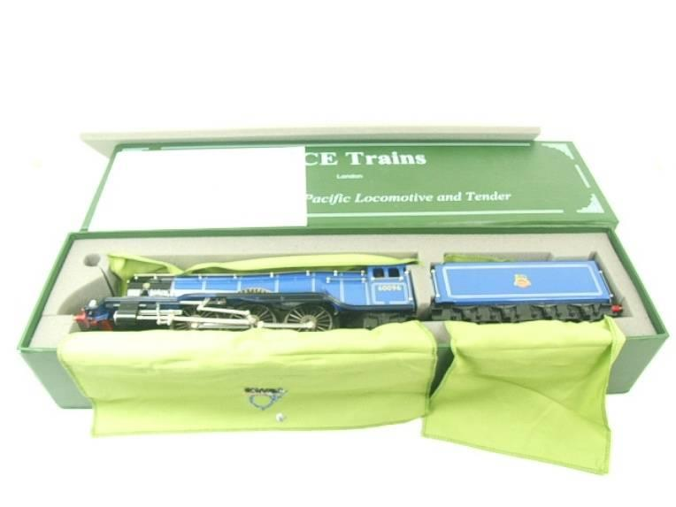 "Ace Trains O Gauge E6 A3 Pacific BR Blue ""Papyrus"" R/N 60096 Electric 3 Rail Bxd image 20"