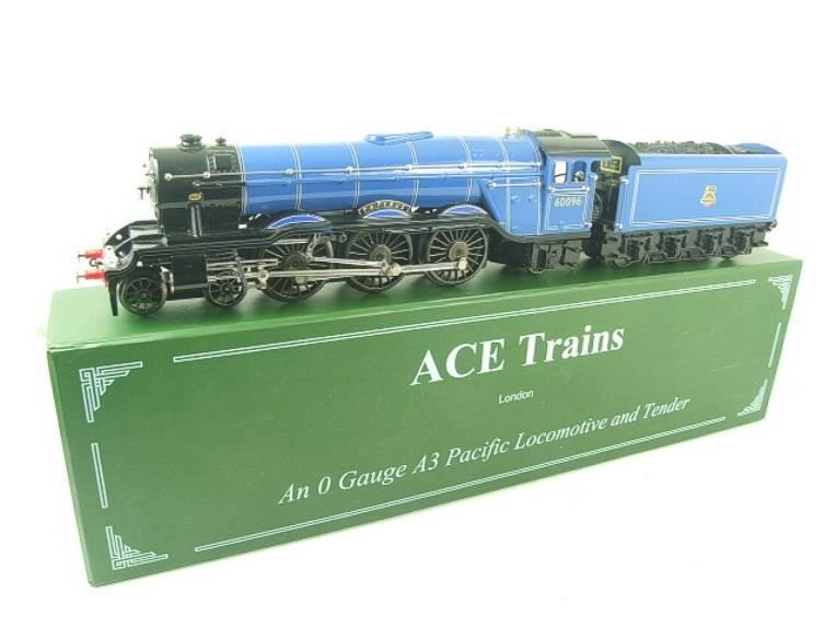 "Ace Trains O Gauge E6 A3 Pacific BR Blue ""Papyrus"" R/N 60096 Electric 3 Rail Bxd image 22"