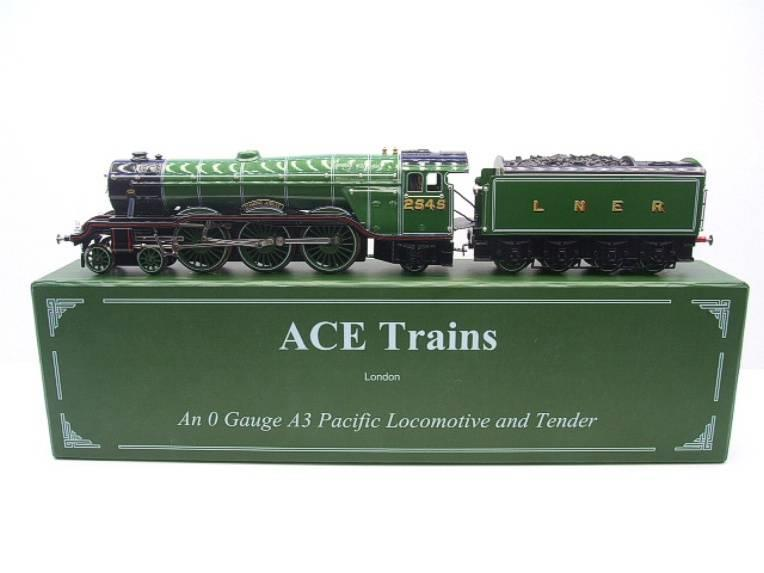 "Ace Trains O Gauge E/6 A3 Pacific Class LNER ""Diamond Jubilee"" R/N 2545 Electric 3 Rail Boxed image 22"