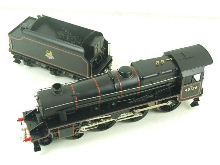 Ace Trains O Gauge E19-C1 BR Satin Black 5 Loco & Tender R/N 45126 Electric 2/3 Rail Bxd image 11