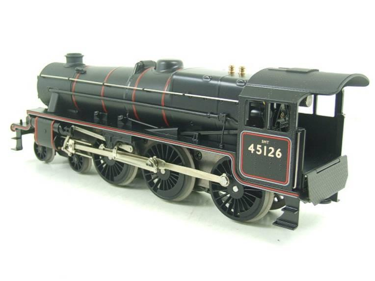 Ace Trains O Gauge E19-C1 BR Satin Black 5 Loco & Tender R/N 45126 Electric 2/3 Rail Bxd image 12