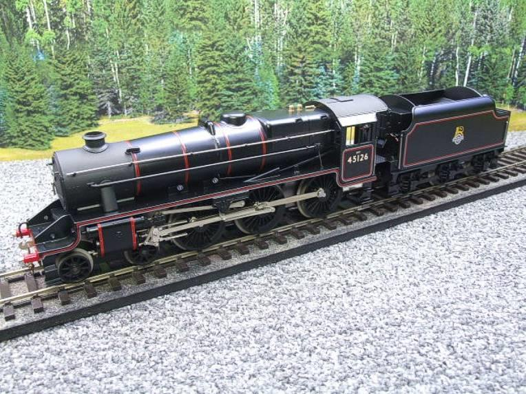 Ace Trains O Gauge E19-C1 BR Satin Black 5 Loco & Tender R/N 45126 Electric 2/3 Rail Bxd image 15