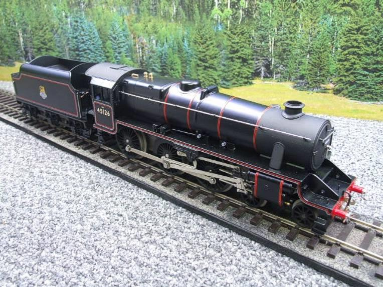 Ace Trains O Gauge E19-C1 BR Satin Black 5 Loco & Tender R/N 45126 Electric 2/3 Rail Bxd image 20